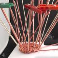 Pletení na polystyrenu 04