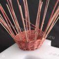 Pletení na polystyrenu 06