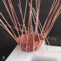Pletení na polystyrenu 08